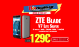 ZTE Blade V7 Lite Silver Smartphone | (5 inch / 4G / DUAL SIM / 16GB) | MediaMarkt | 129€