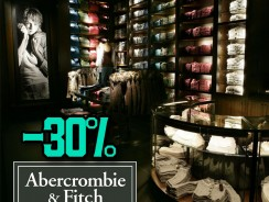 "Abercrombie & Fitch Εκπτώσεις 30% ""Cozy Sales"" Online Προσφορά στην Χειμωνιάτικη Ένδυση | [abercrombiecom] | -30%"