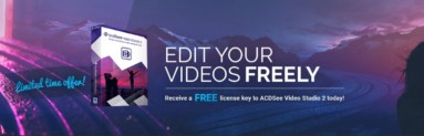 ACDSee Video Studio 2 | Video Editor – Video Screen Recorder | ΔΩΡΕΑΝ 1 ΧΡΟΝΟ
