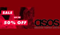 Asos Εκπτώσεις Χριστουγέννων έως 50%  | Ρούχα – Αξεσουάρ – Παπούτσια – Φορέματα – Δώρα | asos.com | -50%