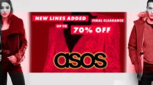 ASOS Εκπτώσεις – Final Clearance – έως 70% | Ρούχα – Αξεσουάρ – Παπούτσια -Φορέματα | asos.com | -70%