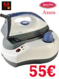 Προσφορά JURO-PRO Assos Σύστημα Σιδερώματος | Ατμοπαραγωγός 2000 Watt | mediamarkt | 55€