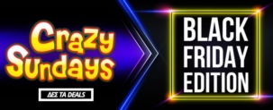 Crazy Sundays E-shopgr | CYBER MONDAY Προσφορές στο Eshopgr