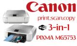 Πολυμηχάνημα Inkjet CANON PIXMA MG5753 Wireless | mediamarktgr | 55€