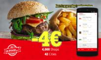 Προσφορές E-food Κουπόνι Προσφοράς 4€ για Παραγγελία Φαγητού Online | EFOODLOVE | E-food.gr