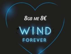 Wind 8GB με 8€ – Καλοκαιρινή Προσφορά GB Wind για Καρτοκινητά F2G και Q | 2GB για κάθε μήνα για 4 μήνες