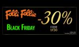 Folli Follie Black Friday Προσφορές και Εκπτώσεις 30% | FolliFollie | -30%