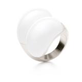 Folli Follie Δαχτυλίδι ASTEROID με Κρυστάλλινη Λευκή Πέτρα | 75% Έκπτωση | [FolliFollie.gr] | 15€