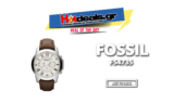 Fossil FS4735 Ανδρικό Ρολόι | Χρονογράφος – Stainless Steel – Δερμάτινο Λουράκι | Amazon.fr |  71.69€
