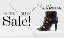 Fratelli Karida Εκπτώσεις έως 50% | Γυναικεία Παπούτσια Τσάντες