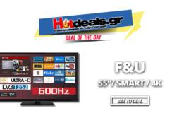 F&U FL2D5503 Τηλεόραση 4K Smart 55 Ιντσών | LED TV ULTRA HD | Media Markt | 399€