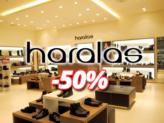 Haralas Eshop Προσφορές και Εκπτώσεις έως 50% (Χαραλάς) | Γόβες – Πέδιλα – Τσάντες | 2018 haralas.gr | -50%