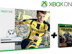 XBOX One S 500GB + FIFA 17 + Gears of War 4 | [game.co.uk] | 280€