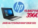 "HP 15-BA071ND Hewlett Packard LAPTOP 15.6"" (AMD A6-7310/8GB RAM/128GB SSD) | eshop | 396€"