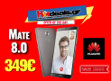 HUAWEI Ascend Mate 8 DUAL SIM | Smartphone 6 inch (32GB/2.3GHz/16MP/Android 6.0) | Kotsovolos | 349€
