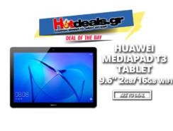 HUAWEI MediaPad T3 Tablet 9.6″ | Black Friday Kotsovolos