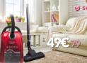 SINGER VC7030 Ηλεκτρική Σκούπα με Σακούλα | mediamarkt | 49€