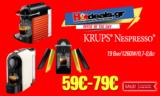KRUPS® Nespresso® Pixie Pulse | Καφετιέρες με Κάψουλες 19 Bar / 1260W | Mediamarkt.gr | από 59€
