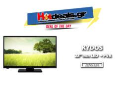 Τηλεόραση Kydos 28″ LED HD Ready K28NH20CD | Τηλεοράσεις Public | 99€