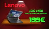 Laptop Lenovo 100S-14IBR – 14″ (N3060/4GB/32GB/ HD) | Public | 199€