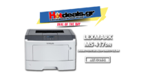 Lexmark MS417dn Laser Εκτυπωτής | Laser Ασπρόμαυρος Printer | Public.gr | 79€