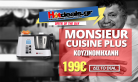 Monsieur Cuisine Plus Κουζινομηχανή – Προτείνει ο Chef Λευτέρης Λαζάρου | LIDL | 179€