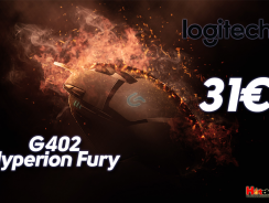 Gaming Mouse Logitech G402 Hyperion Fury | Ultra-Fast FPS 8 Buttons | amazoncouk | 31€