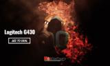 Logitech G430 Gaming Ακουστικά με Μικρόφωνο + Remote | Amazon.de | 35€