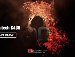 Logitech G430 Gaming Ακουστικά με Μικρόφωνο + Remote   Amazon.de   35€