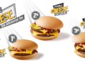 McDonalds Cheeseburger με 1€, 2€ ή 3€ | Προσφορά για Μονό, Double ή Triple Cheesburger @McDonalds | 1-2-3€