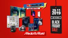 MediaMarkt Black Friday 2019 | Προσφορές Blackfriday Media Markt Φυλλάδιο
