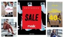ΝΑΚ | Nak Shoes Προσφορές σε Παπούτσια έως 70% Outlet Stock