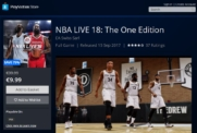 NBA LIVE 18: The One Edition PS4 | Playstation Store NBA LIVE 18 | 9.99€