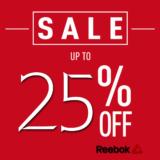 Reebok Εκπτώσεις 25% σε Όλα και στα Outlet με Εκπτωτικό Κωδικό | reebok.com/gr | SALES