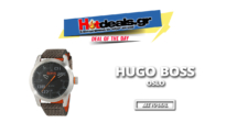 Hugo Boss Orange Oslo Watch | Ρολόι με δερμάτινο λουράκι | Amazon.co.uk | 73€