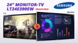 Οθόνη-Τηλεόραση 24″ SAMSUNG LT24E390EW/EN Full HD | [MediaMarkt.gr] | 139€
