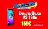 SAMSUNG Galaxy A3 (2016) | Smartphone Android 4.7″ (1.5Ghz/13Mp/1.5GB/16GB/4G) | MediaMarkt | 169€