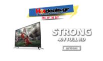 Strong SRT40FX4003 LED Τηλεόραση 40″ Full HD TV   #Black_Friday Public   199€
