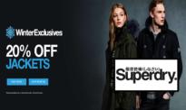 SuperDry Εκπτώσεις 20% σε Επιλεγμένα Jacket, Ηoodie και Μπλουζάκια | superdry.com | -20%
