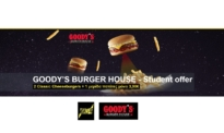 Cosmote What's Up Deals For You | Goody's Burger House Προσφορά 2 Cheeseburger + Πατάτες | 4.10€